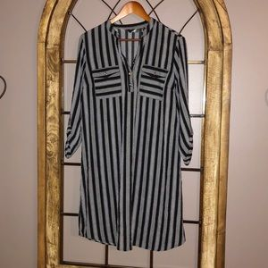 Mlle Gabrielle stripe dress